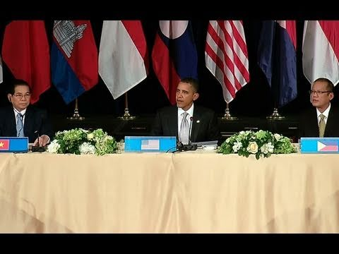President Obama at Working Lunch with ASEAN leaders