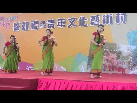 BAHK Performer dancing on Dola de Reat Youth Festival Yuen Long...