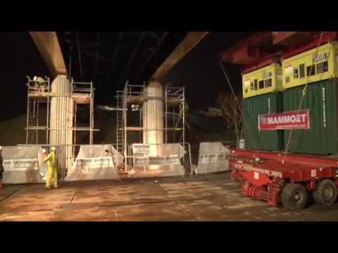 Morgan Sindall - The Campus Bridge Install