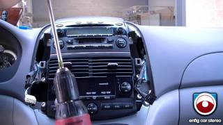 iPod iPhone or Aux Install 2004-2008 Toyota Sienna - BlitzSafe TOY/AUX DMX V.2