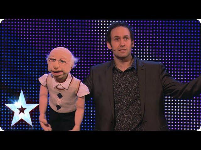Ventriloquist Steve Hewlett is no dummy | Week 6 Auditions | Britain's Got Talent 2013
