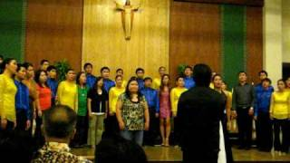Auld Lang Syne by Joan Cano and Marcia Lopez and The UST Singers
