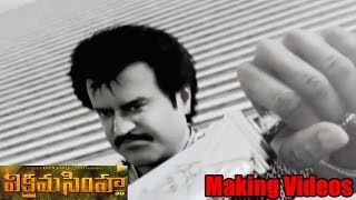 Vikrama Simha - Vikramasimha Movie Making Video - Rajinikanth, Deepika Padukone