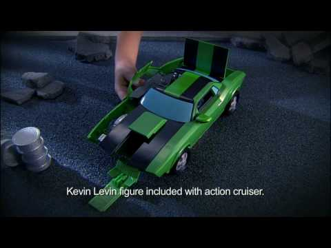 Ben 10 Alien Force: Kevin Levin's Action Cruiser