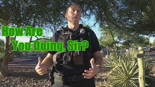 Peoria AZ 1st Amendment Audit [How Are You Doing, Sir?]