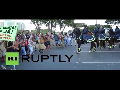 Brazil: Native people march on World Cup centrepiece