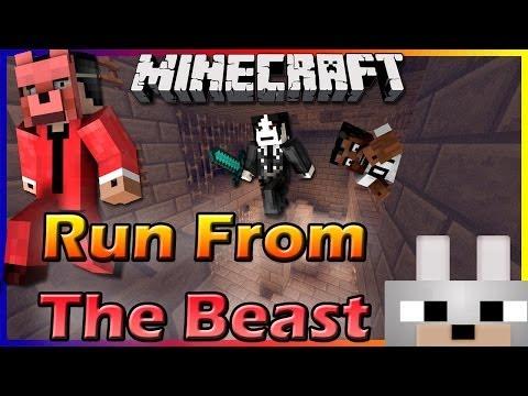 Minecraft Mini-Game: Run From The Beast: Forgotten Darkness 1.7.4