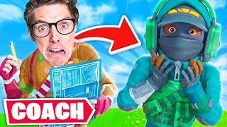 LazarBeam Became my Fortnite Coach...