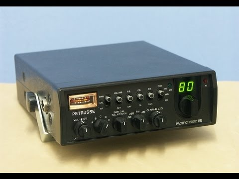 PACIFIC 2002RE, 200 CH, AM-FM-SSB CB-HAM-radio