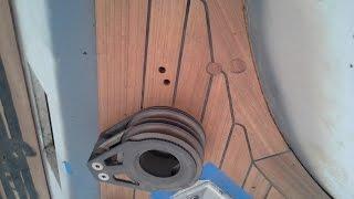 Reparacion en cubierta
