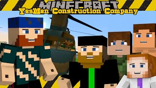 Minecraft SMP | YesMen Construction Company | #6 FLYING IN STYLE