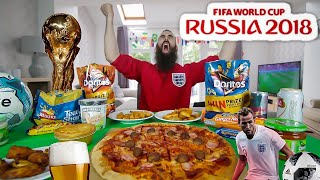 THE ONE-MAN WORLD CUP SNACK PARTY (12,000 CALORIES)   BeardMeatsFood