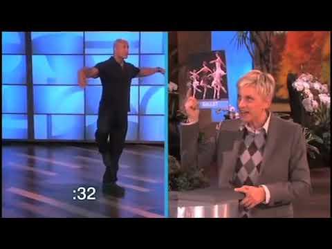 Dwayne Johnson Gets Dancing!