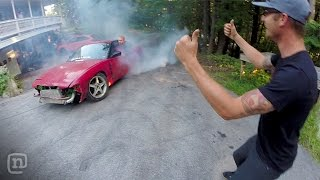 Fun & Games At Ryan Tuerck's Home Drift Car Garage: Garage Tours w/ Chris Forsberg