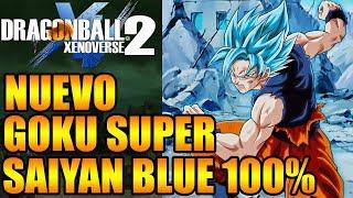 Dragon Ball Xenoverse 2 NUEVO GOKU SUPER SAIYAN BLUE 100% EXPLICACIÓN