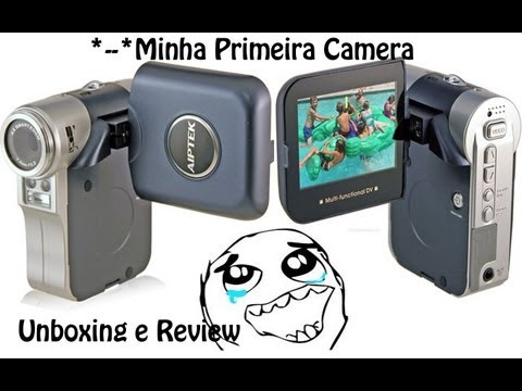 Unboxing e Review - Filmadora Aiptek Digital ISDV2.4