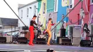 David and Paulina @ Salsa on St. Clair -2nd performance - July 4, 2015