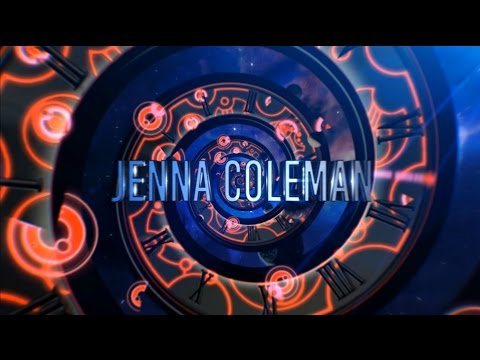 Clara Who? Jenna Coleman 2014 Title Sequence Adaptation - Neonvisual & Hardwire Colaboration video