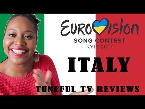 Eurovision 2017 - ITALY - Tuneful TV Reaction & Review