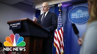 General John Kelly Takes Issue With Rep. Frederica Wilson's Tone At 2015 FBI Ceremony | NBC News