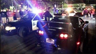 COPS HATE LOUD CARS! 800HP Supra Caught 2-Stepping