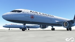 Air Canada A321 takeoff from Miami to Toronto | Infinite Flight Global