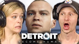 People Help Androids Protest In Detroit Become Human • Scared Buddies