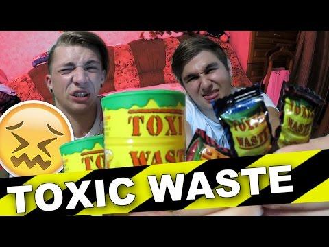 TOXIC WASTE CHALLENGE /  ТОКСИЧНЫЕ ОТХОДЫ +КОНКУРС