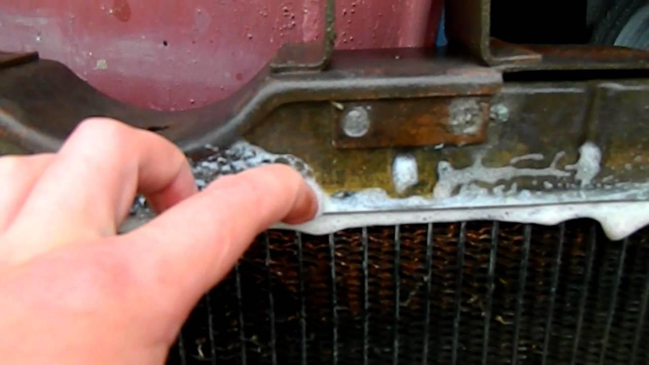 Как проверить радиатор на течь в домашних условиях