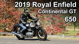 2019 Royal Enfield Continental GT 650 Ride & Review