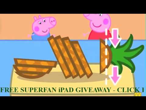 New Peppa Pig Holiday App review part 2 on iPad mini