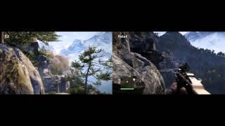 Far Cry 4 graphics downgraded?! E3 demostration vs. Retail version
