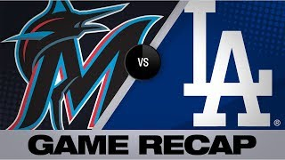 Ryu, bullpen shut down Marlins in 2-1 win | Marlins-Dodgers Game Highlights 7/19/19