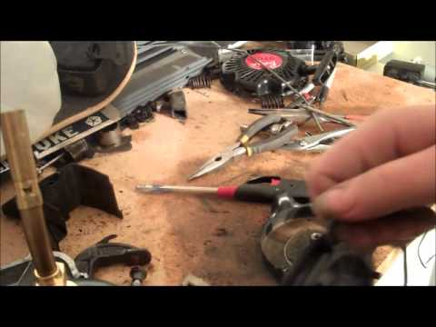 How to replace pull string on Briggs and stratton lawn mower