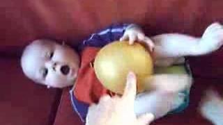 Babyhandjes en babyvoetjes (6 maanden oud)