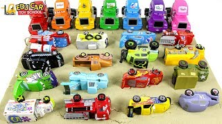 Learning Color Disney Cars Lightning McQueen mack truck sand Play for kids car toys