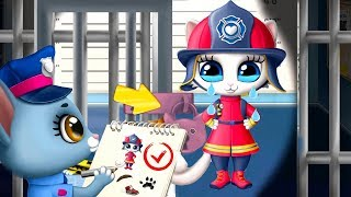 Kitty Meow Meow City Heroes - Play Fun Pet Kitten Rescue Kids Game  - Let's Rescue The Cute Animals