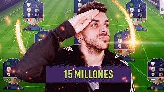 PLANTILLA FULL ICONOS DE 15 MILLONES DE MONEDAS !! (ME GUARREAN)