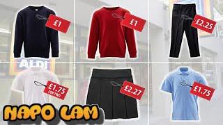 Aldi launches £5 uniform for the new school year