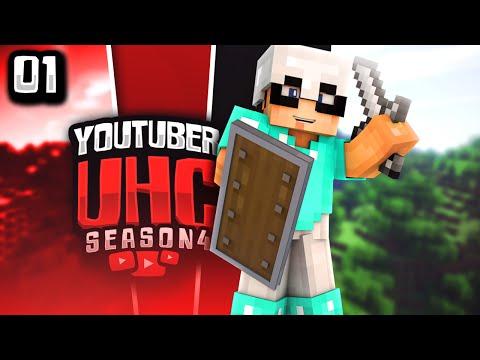Minecraft YouTuber UHC Season 4: Episode 1 - Me, Myself, & I