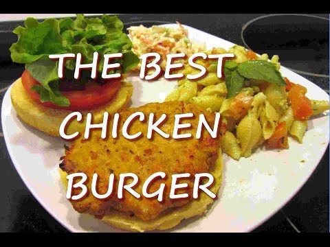 Healthy Ground Chicken Burger Recipe   The Best Chicken Burger