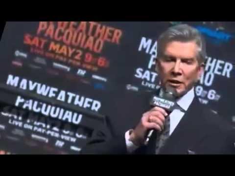 Флойд Мэйвезер против Мэнни Пакьяо  03.05.2015