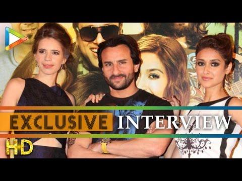 Saif Ali Khan Ileana DCruz-Kalki Koechlin exclusive On Happy Ending Part 1
