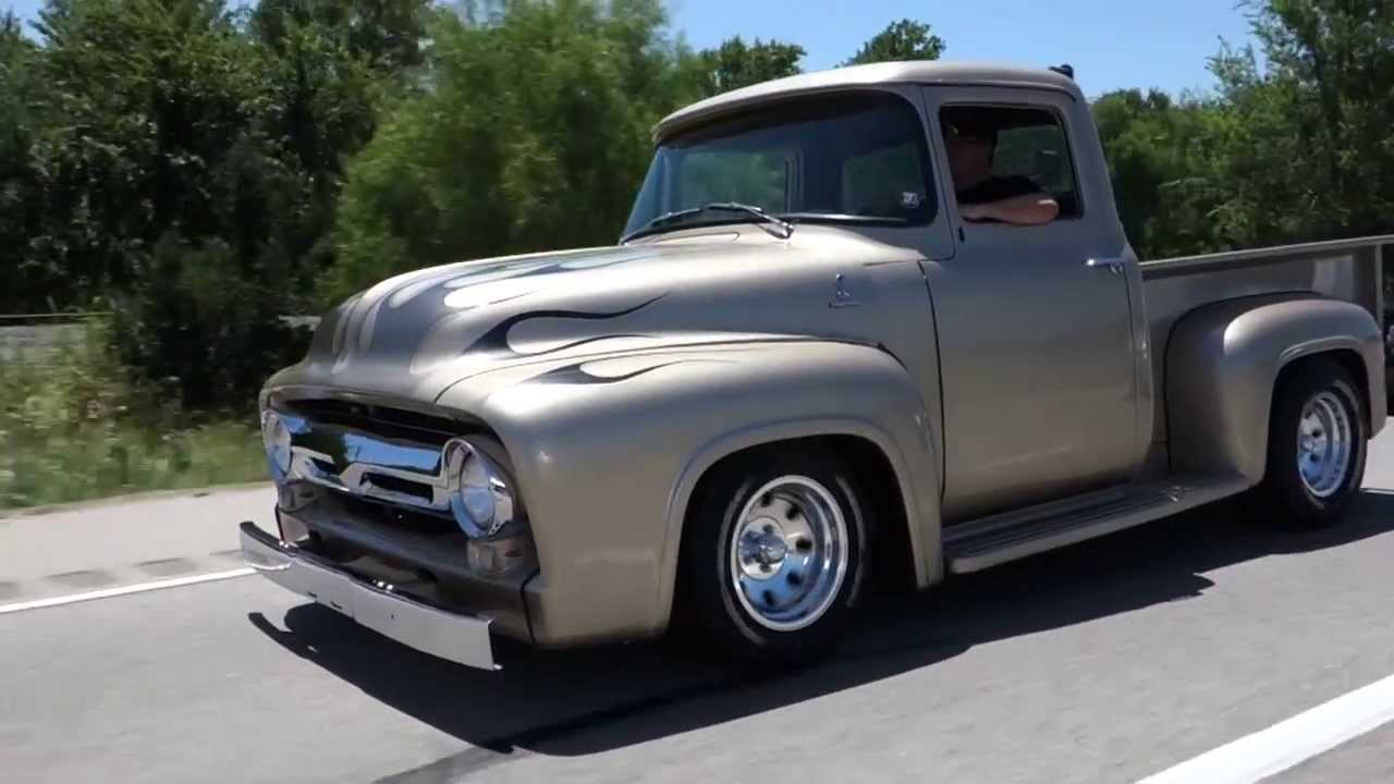 1956 Ford F 100 Classic Hot Rod Pickup Truck Youtube
