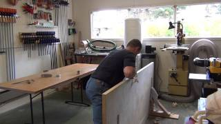 Milling a Blank Interior Door part 1