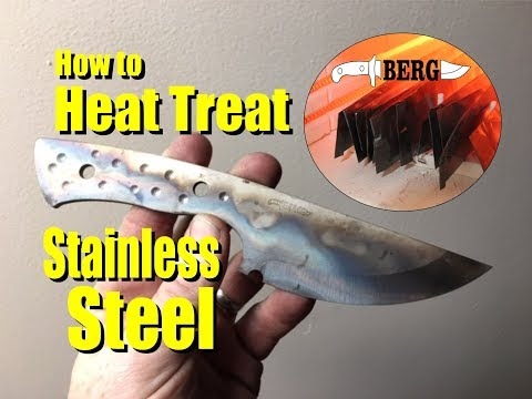 How to Heat Treat Stainless Steel for Knife Making
