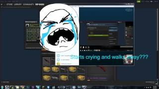 Tricking Kid Into Thinking He Got Scammed! Steam CSGO