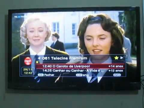 Claro TV SD em TV de LED