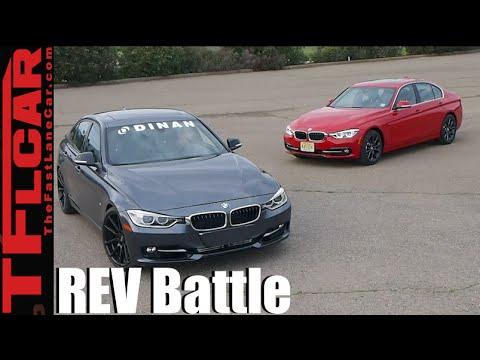 665 HP REV Battle: 2016 BMW 340i vs Tuned 2012 Dinan BMW 328i