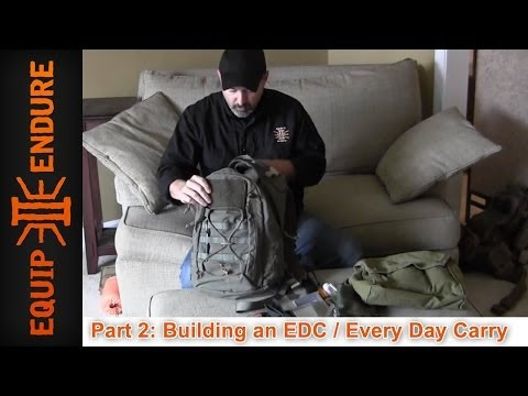 Building a (EDC) Everyday Carry Kit. Part 2 by Equip 2 Endure